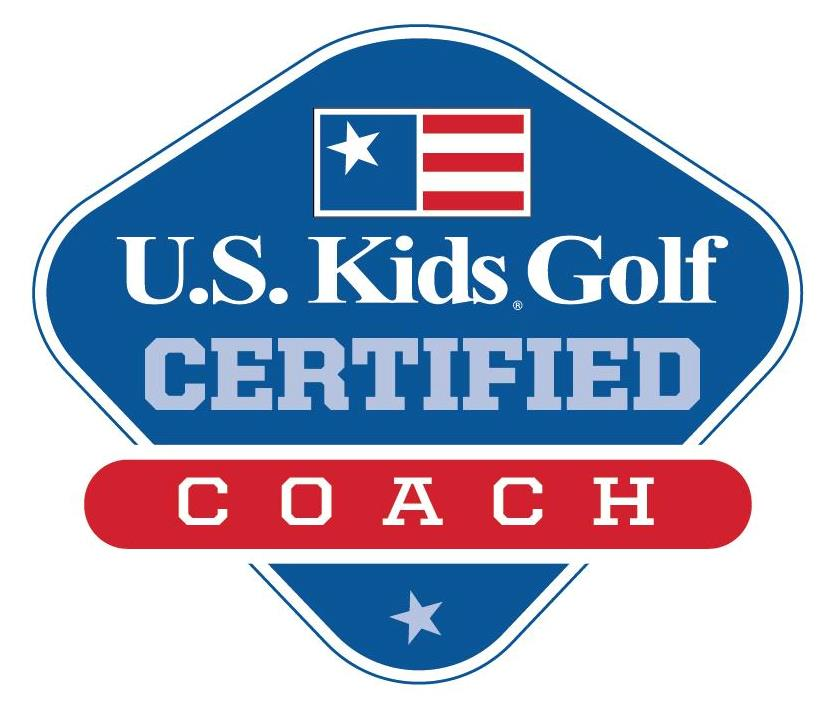 US Kids Golf Certified Coach Logo